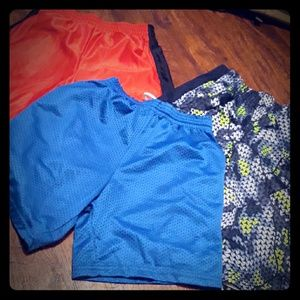 Boys Athletic Shorts 3 Pair Size 10 L Gymboree EUC